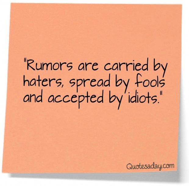Rumors quote #5