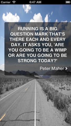 Running quote #1