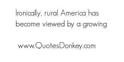 Rural America quote #1