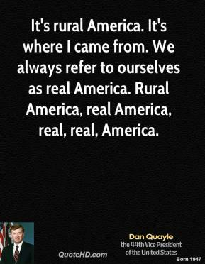 Rural America quote #2