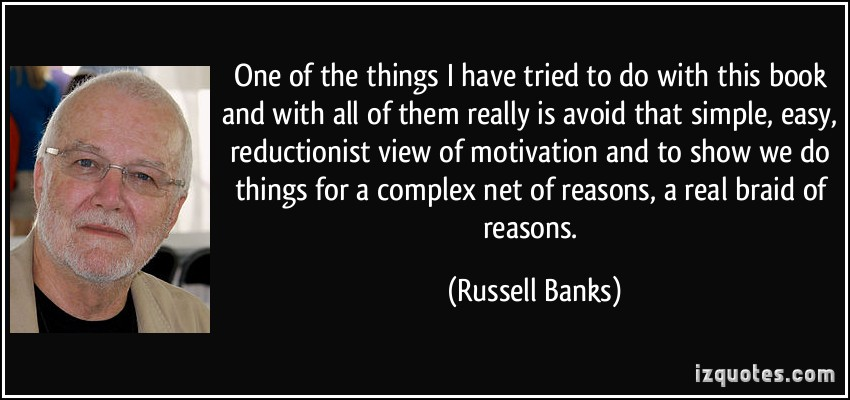 Russell Banks's quote #5