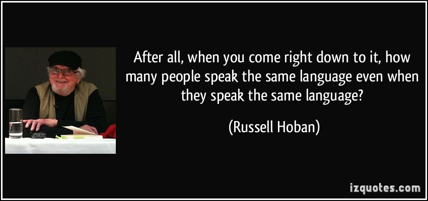 Russell Hoban's quote #1