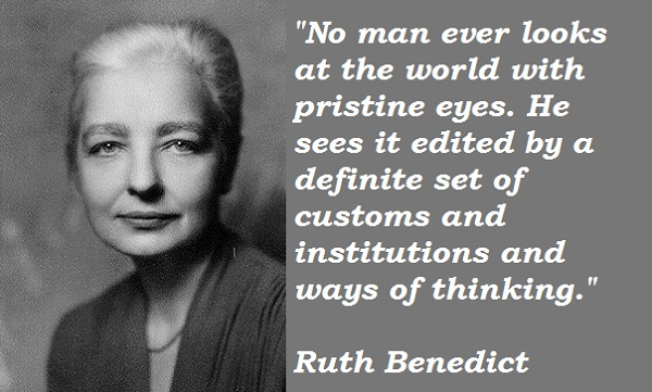 Ruth Benedict's quote #2