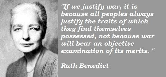 Ruth Benedict's quote #5
