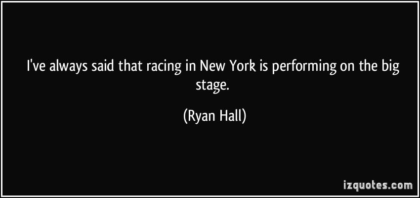 Ryan Hall's quote
