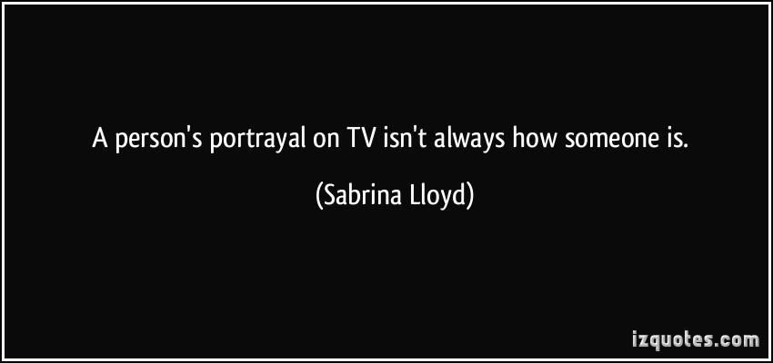 Sabrina Lloyd's quote #5