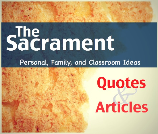 Sacrament quote #2