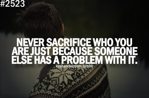 Sacrifice quote #2