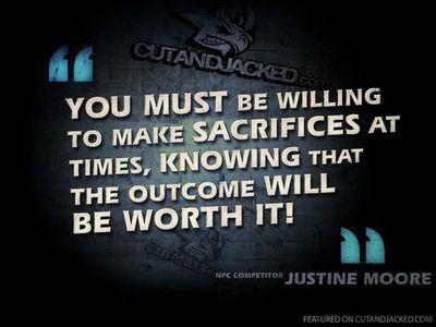 Sacrifices quote #1