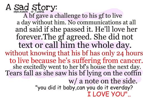 Sad Story Image Quotation #7   Sualci Quotes