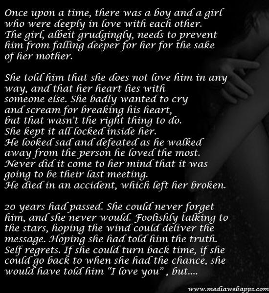 Sad Story Essay