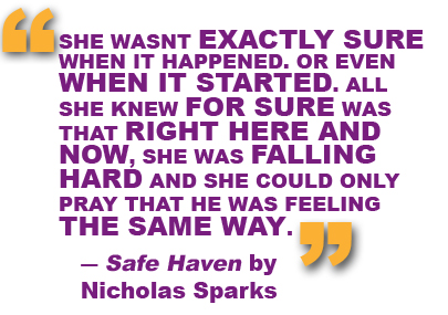 Safe Haven quote #1
