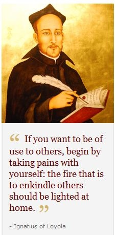 Saint Ignatius's quote