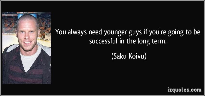 Saku Koivu's quote #6