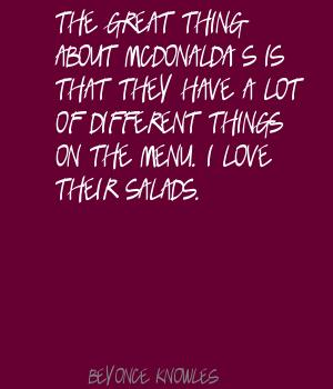 Salads quote #1
