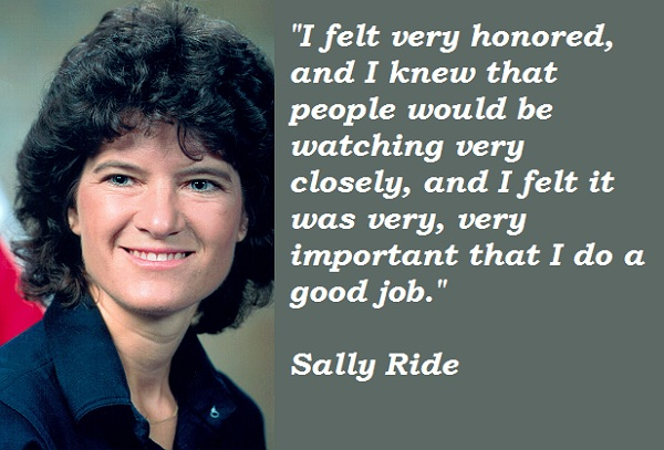 Sally Ride's quote #2