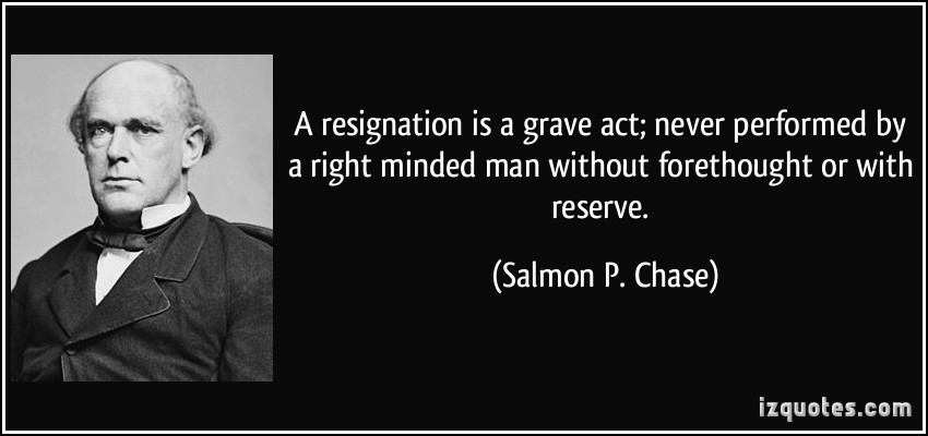 Salmon P. Chase's quote #5
