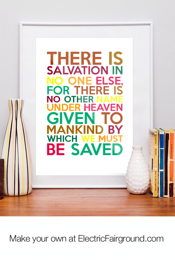 Salvation quote #3