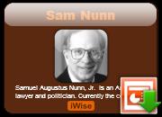 Sam Nunn's quote #1