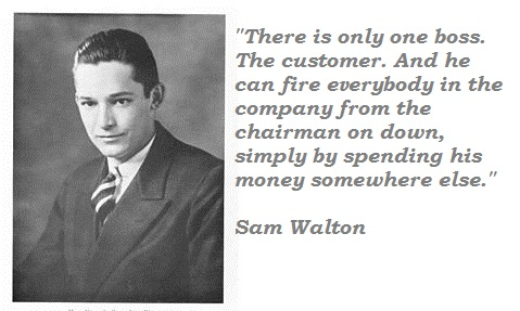Sam Walton's quote #3