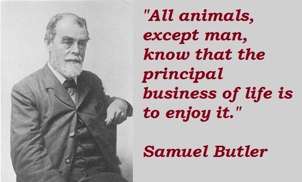 Samuel Butler's quote #2