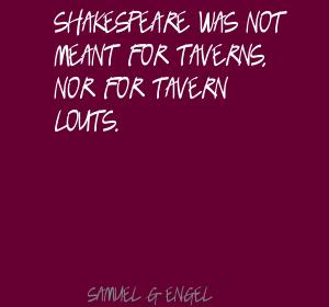 Samuel G. Engel's quote #1