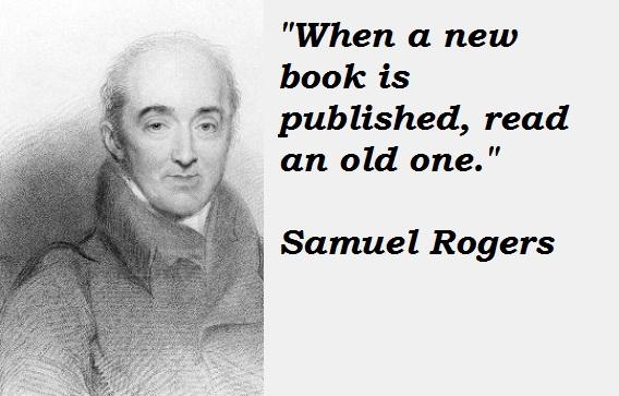 Samuel Rogers's quote