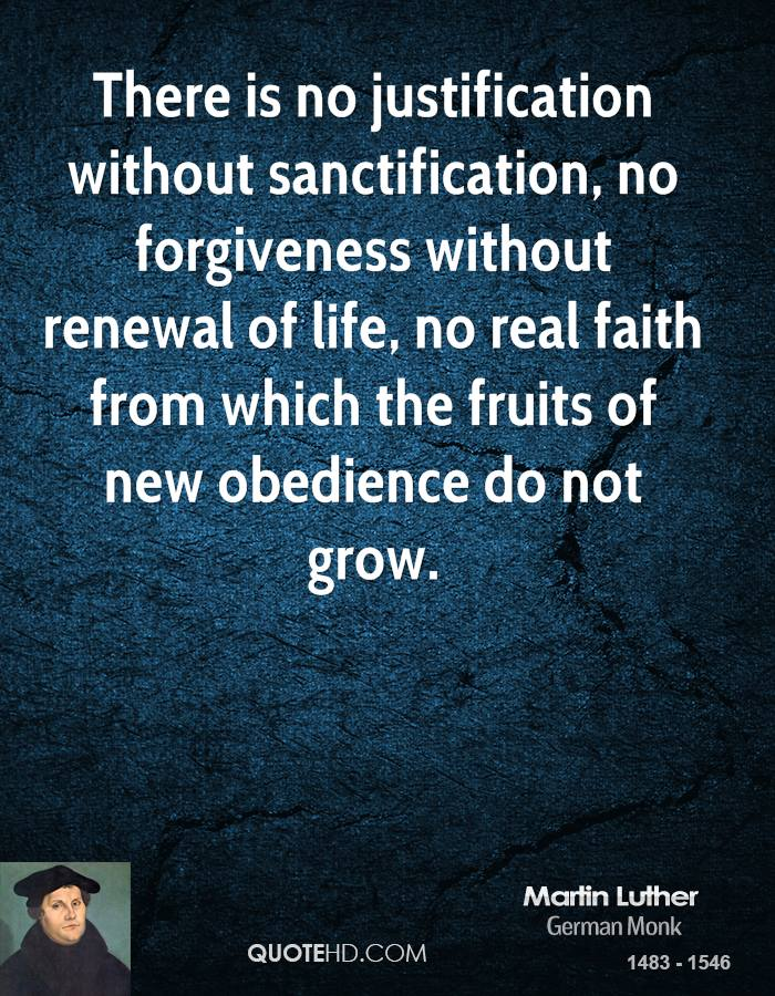 Sanctification quote #1