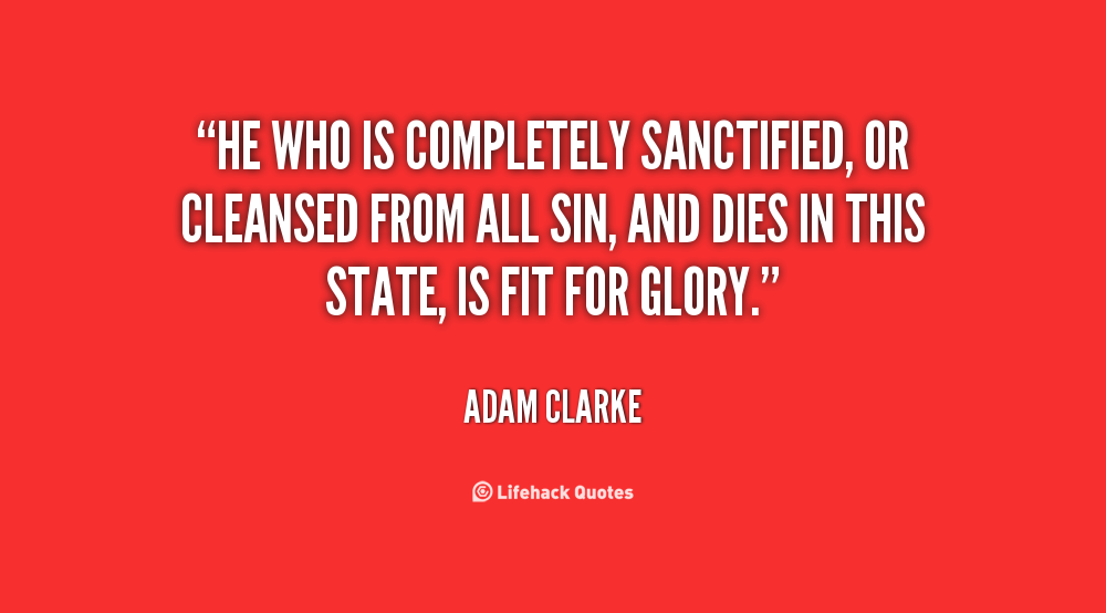 Sanctified quote #1