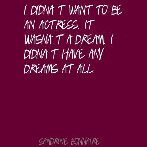 Sandrine Bonnaire's quote #1