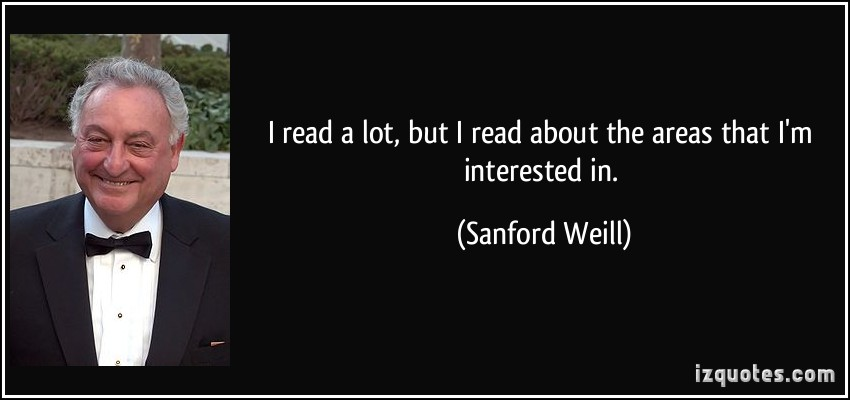 Sanford I. Weill's quote #4