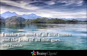 Sara Teasdale's quote #4