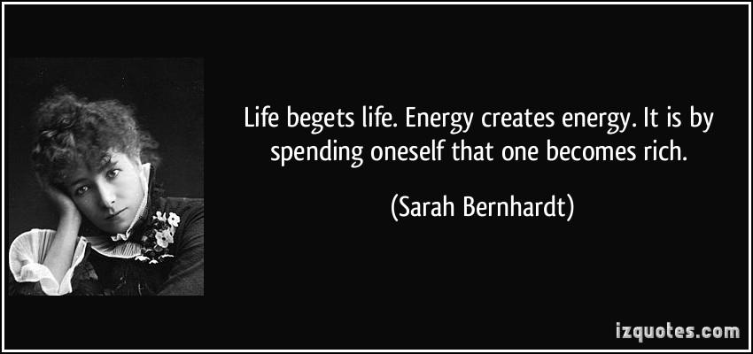Sarah Bernhardt's quote #4
