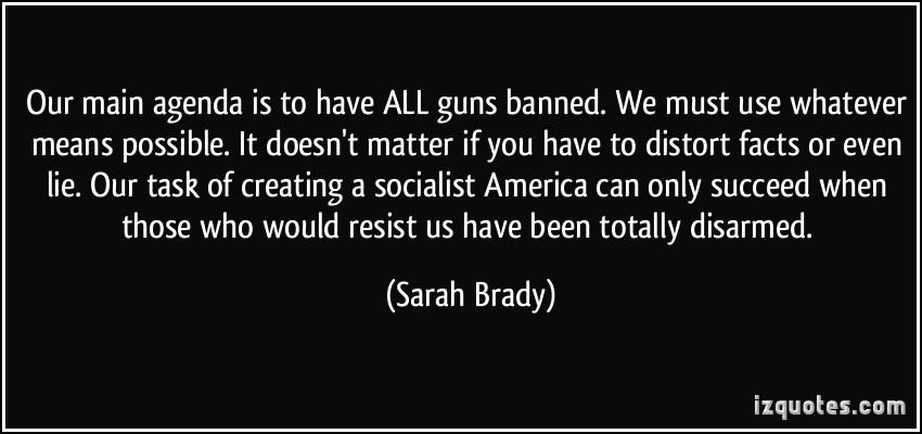 Sarah Brady's quote #2