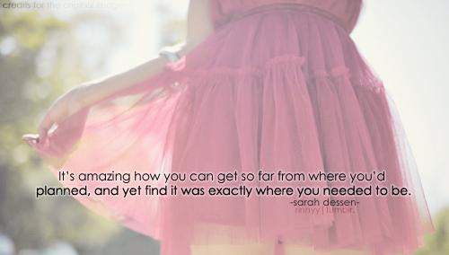 Sarah Dessen's quote #5