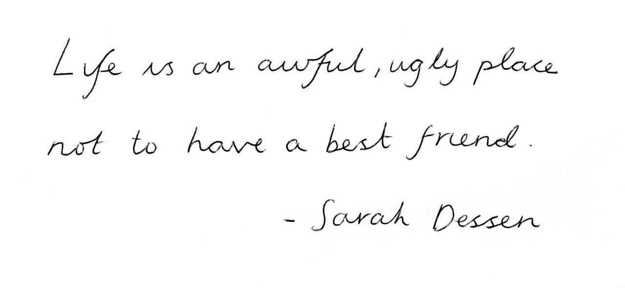 Sarah Dessen's quote #2