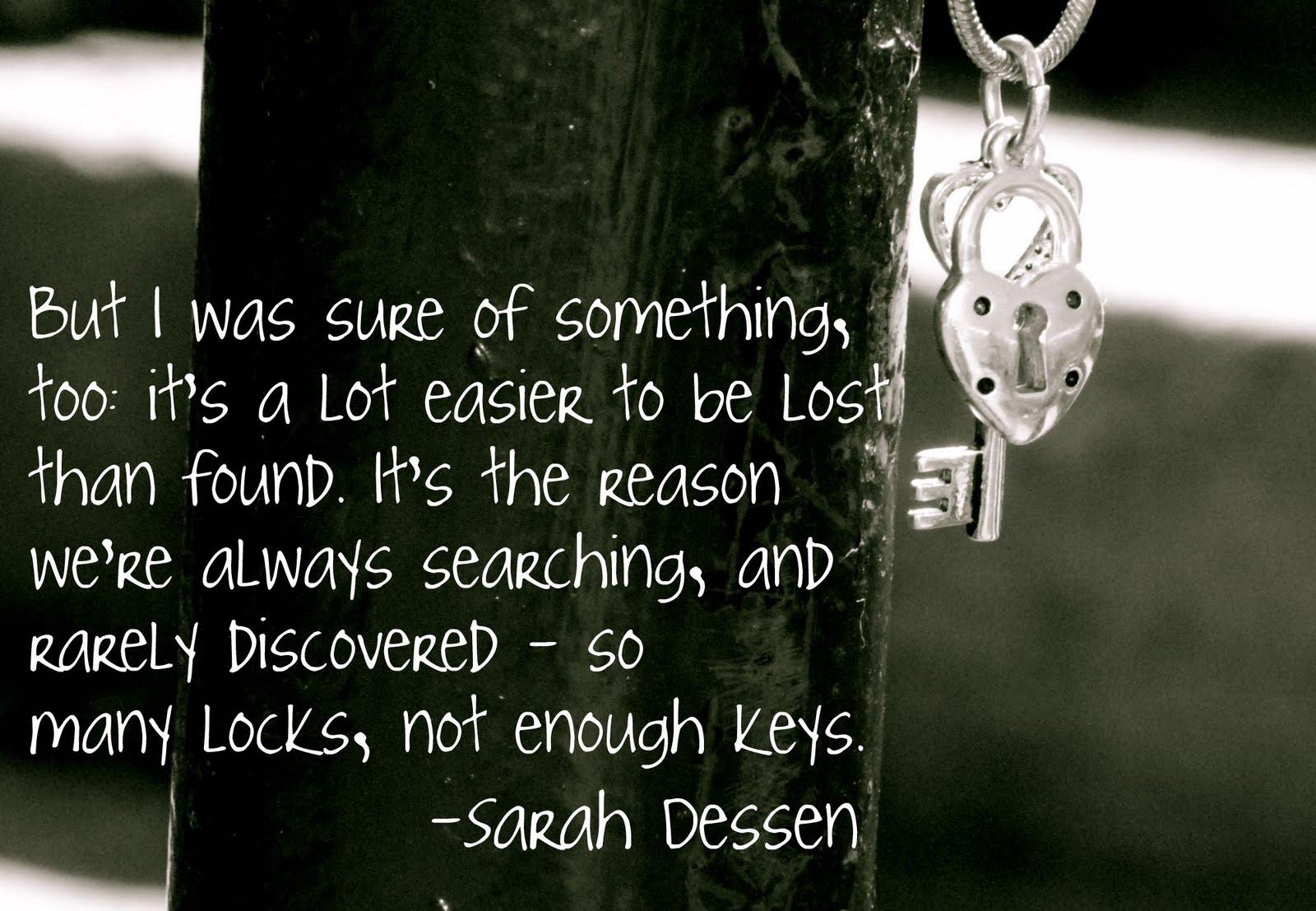 Sarah Dessen's quote #3