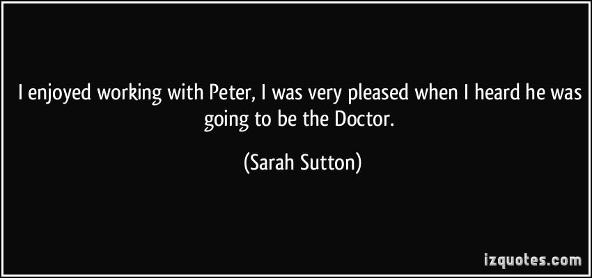 Sarah Sutton's quote #2