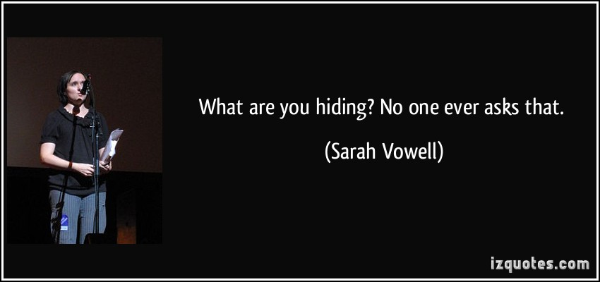 Sarah Vowell's quote #3