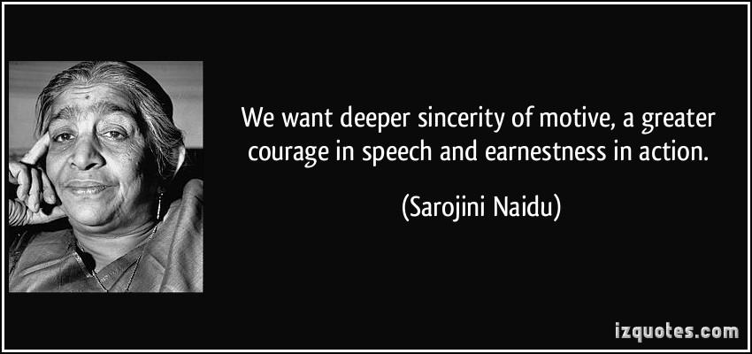 Sarojini Naidu's quote #2