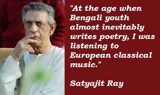 Satyajit Ray's quote #6