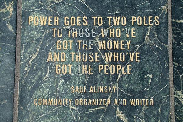 Saul Alinsky's quote #3