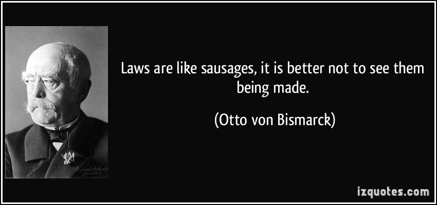 Sausages quote #1