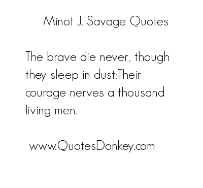 Savage quote #1