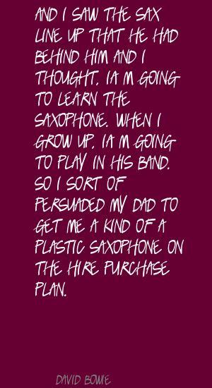 Sax quote #1
