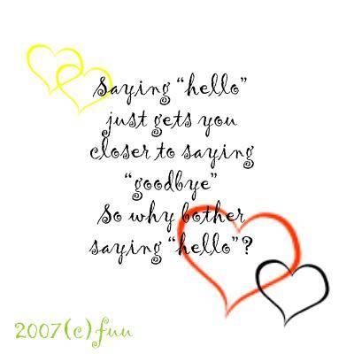 Saying Goodbye quote #2