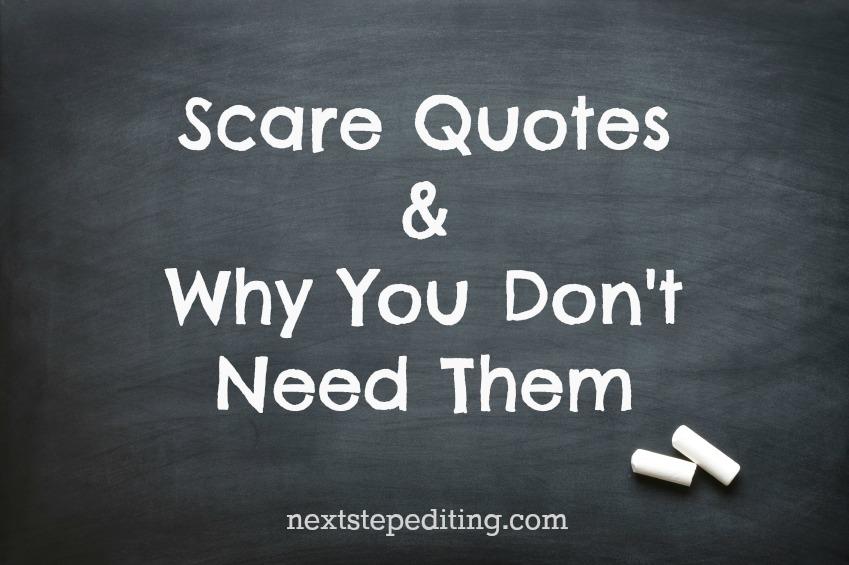 Scare quote #4