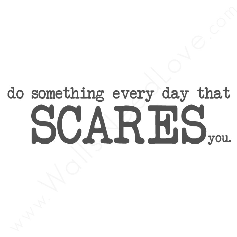 Scared quote #5