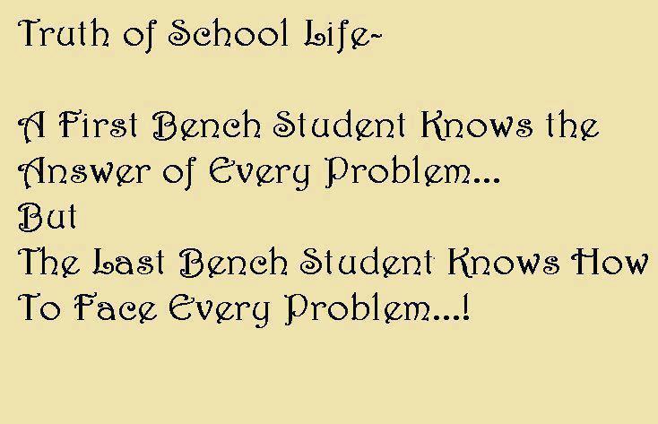 School Life quote #1