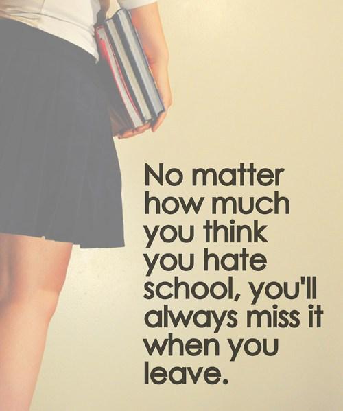 School quote #1